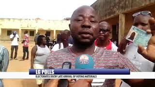 LG POLLS: ELECTORATES DECRY LATE ARRIVAL OF VOTING MATERIALS