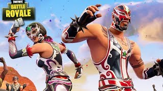 FORTNITE-NEW SKINS MUCHA FIGHT!!! FIGHTERS Amazing