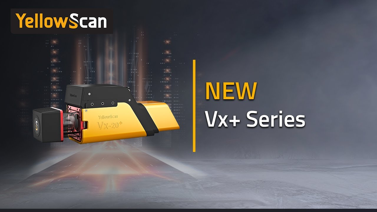 What's new with the YellowScan Vx+ UAV LiDAR series