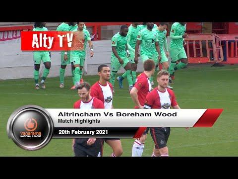 Altrincham Boreham Wood Goals And Highlights
