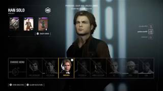 STAR WARS™ Battlefront™ II HvV Young Han Solo Skin Gameplay