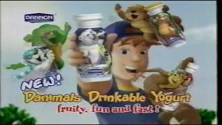 Dannon Danimals Drinkable Yogurt TV Commercial