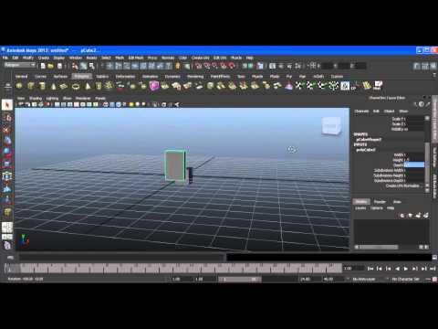 Tutorial: crea tu personaje de Minecraft en Maya 2012 [P.1]