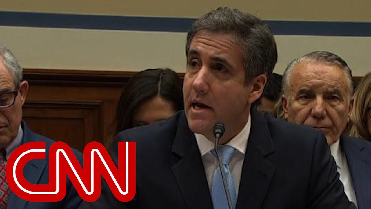 Cohen on Trump: He is a racist, he is a con man, and he is a cheat