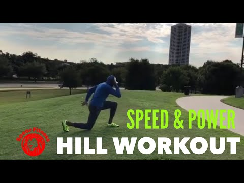 Leg Day Hill Workout (Strength And Speed) With Coach Lyonel Anderson