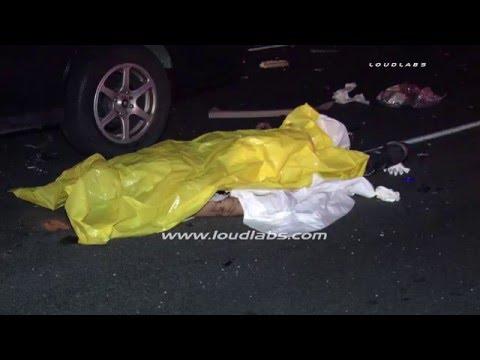 Fatal Freeway Crash / Sherman Oaks RAW FOOTAGE thumbnail