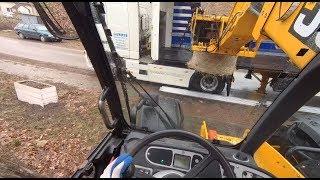 Vlog#70 Załadunek Ciężarówki  JCB Agri Plus 531/70