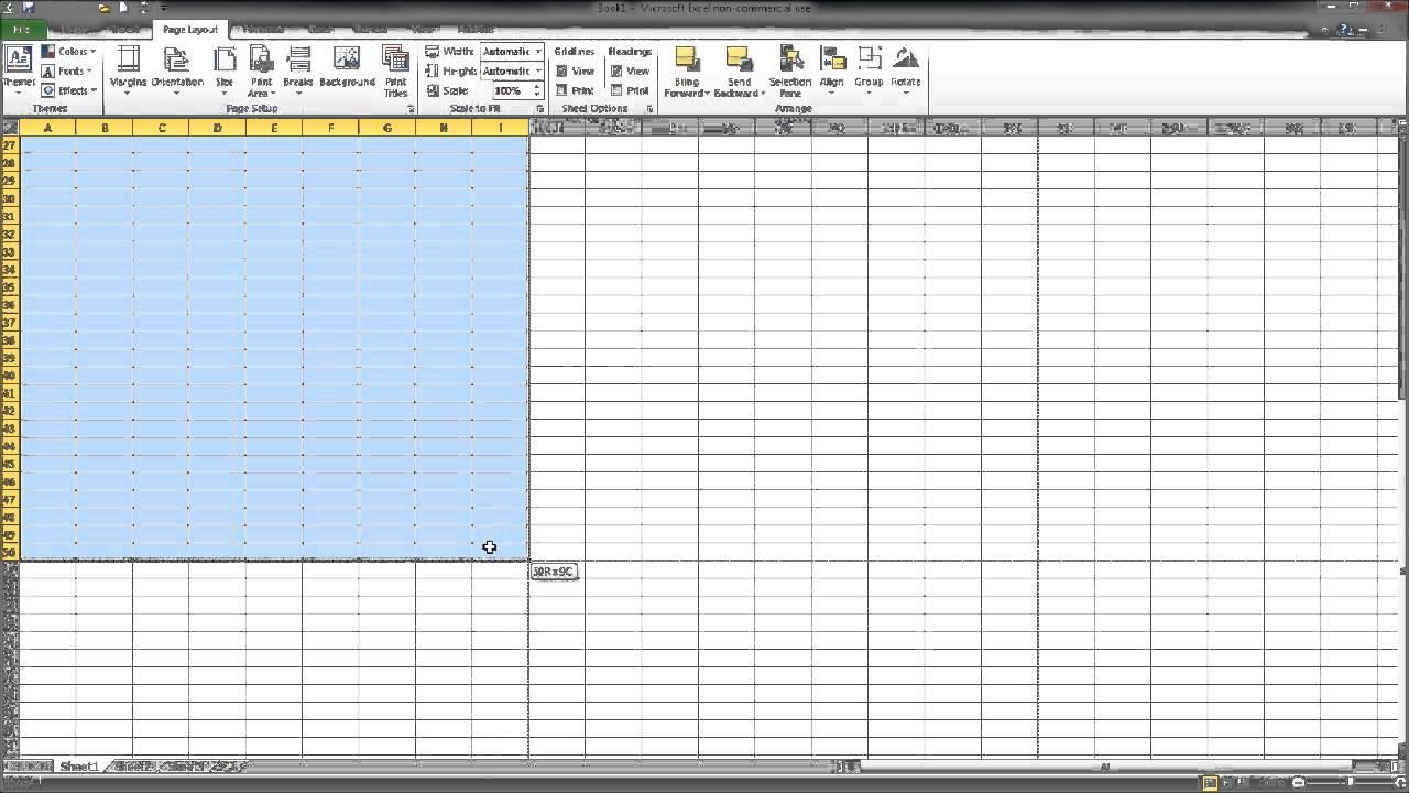 Free Excel Training/Tutorial - Part 5