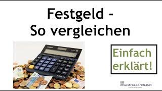 Festgeld im Vergleich – So mehr Zinsen aufs Festgeld bekommen!