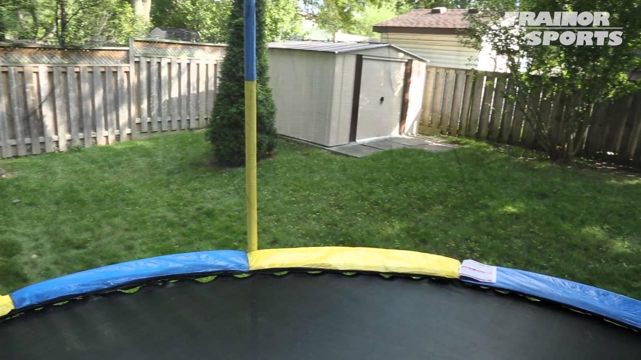 les trampolines par trainor sports youtube