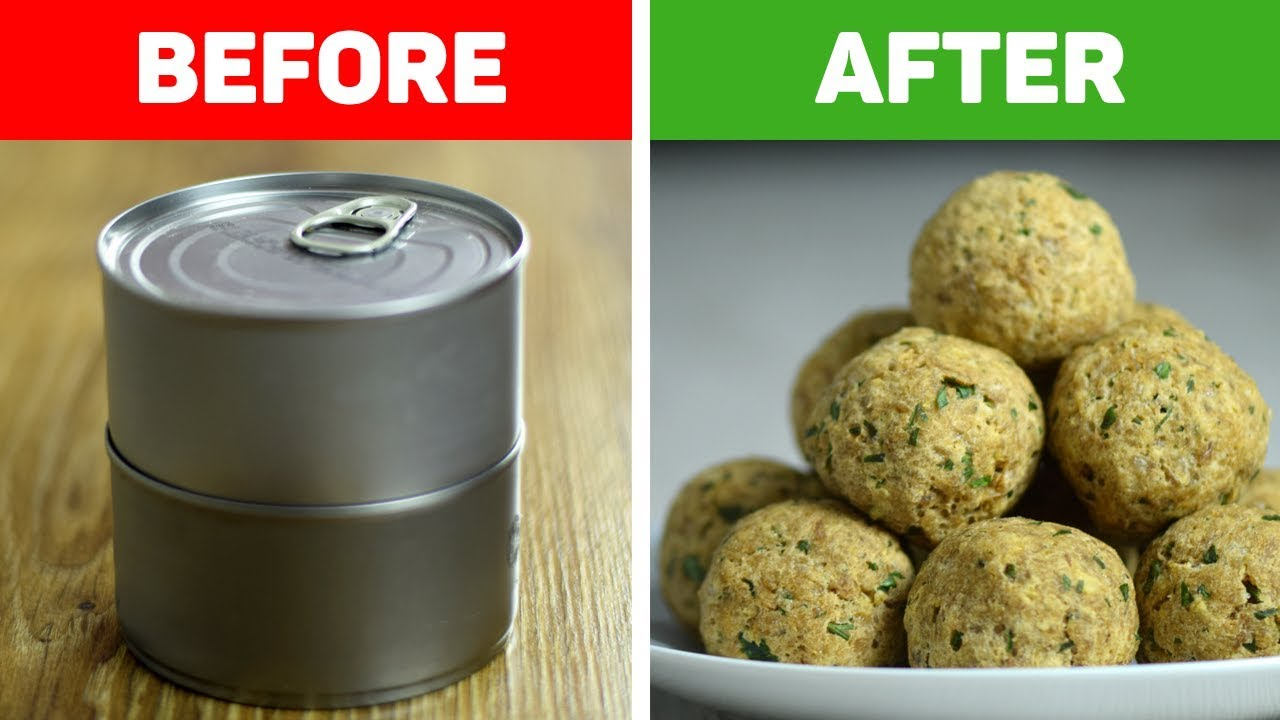 Easy Baked Tuna Meatballs