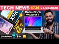 RedmiBook India Launch Confirmed, realme X50t, Cheap OnePlus Phones, Xiaomi 6G, Lockdown 5.0-#TTN736