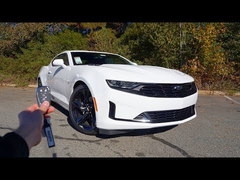 2019-chevrolet-camaro-1lt-rs:-start-up,-exhaust,-test-drive-and-review