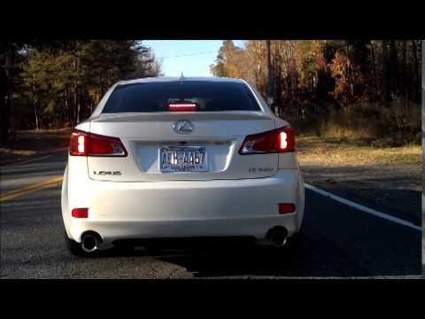 2009 Lexus Is350 Stock Vs Joe Z Catbackintake Launch Youtube