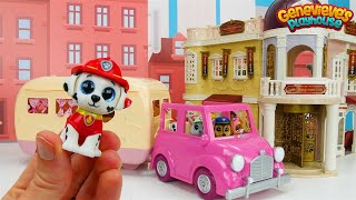 Paw Patrol Go Shopping at the Mall - Toy Learning Video for Kids!