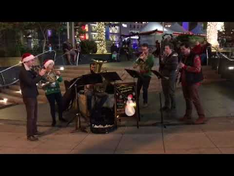 Holiday Music Union Square San Francisco