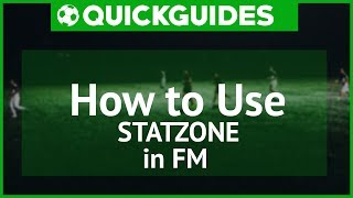FM17 | How to use Statzone in FM | Football Manager 2017