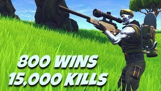 """NEW SOLID STEEL SKINS"" 810+ WINS TOP FORTNITE PLAYS w/ JARS & GALADRIEX"