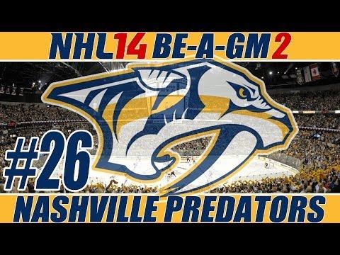 "NHL 14: GM Mode 2 Commentary - Nashville Ep.26 ""End Of Season 4"""