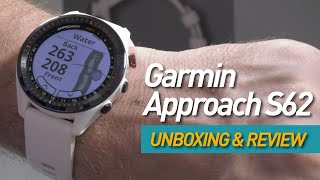 Garmin Approach S62 Unboxing & Review - Is this the golf rangefinder killer?