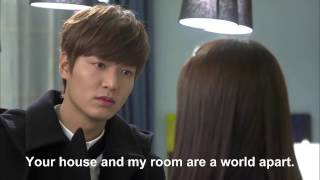 Video Heirs Ep 10 Eng Sub Eun sang Goes in Tan's Room Then BACK HUG! download MP3, 3GP, MP4, WEBM, AVI, FLV April 2018