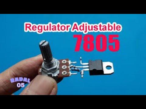Cara Membuat Regulator Adjustable 7805 Penurun Tegangan Ide Kreatif Elektronika DIY