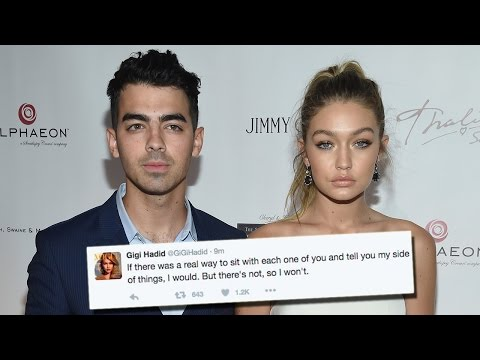 Gigi Hadid Deletes Tweets For Joe Jonas & Fans About Zayn Malik Romance Mp3