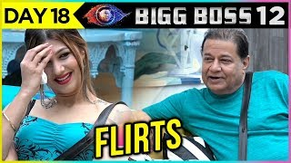 Anup Jalota FLIRTS With Jasleen Matharu and TAUNTS Her | Bigg Boss 12 Update