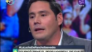 """Pancho Saavedra: """"Curicó tiene el peor hospital de Chile"""""""