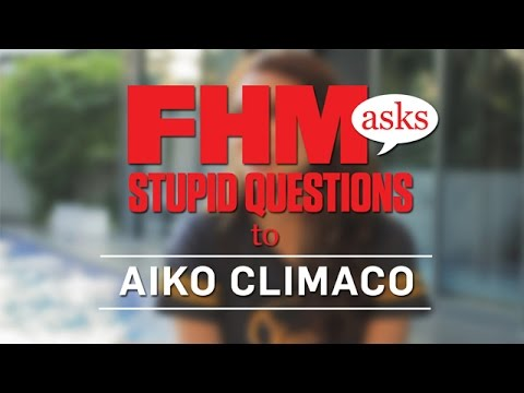 FHM Asks Stupid Questions To Aiko Climaco