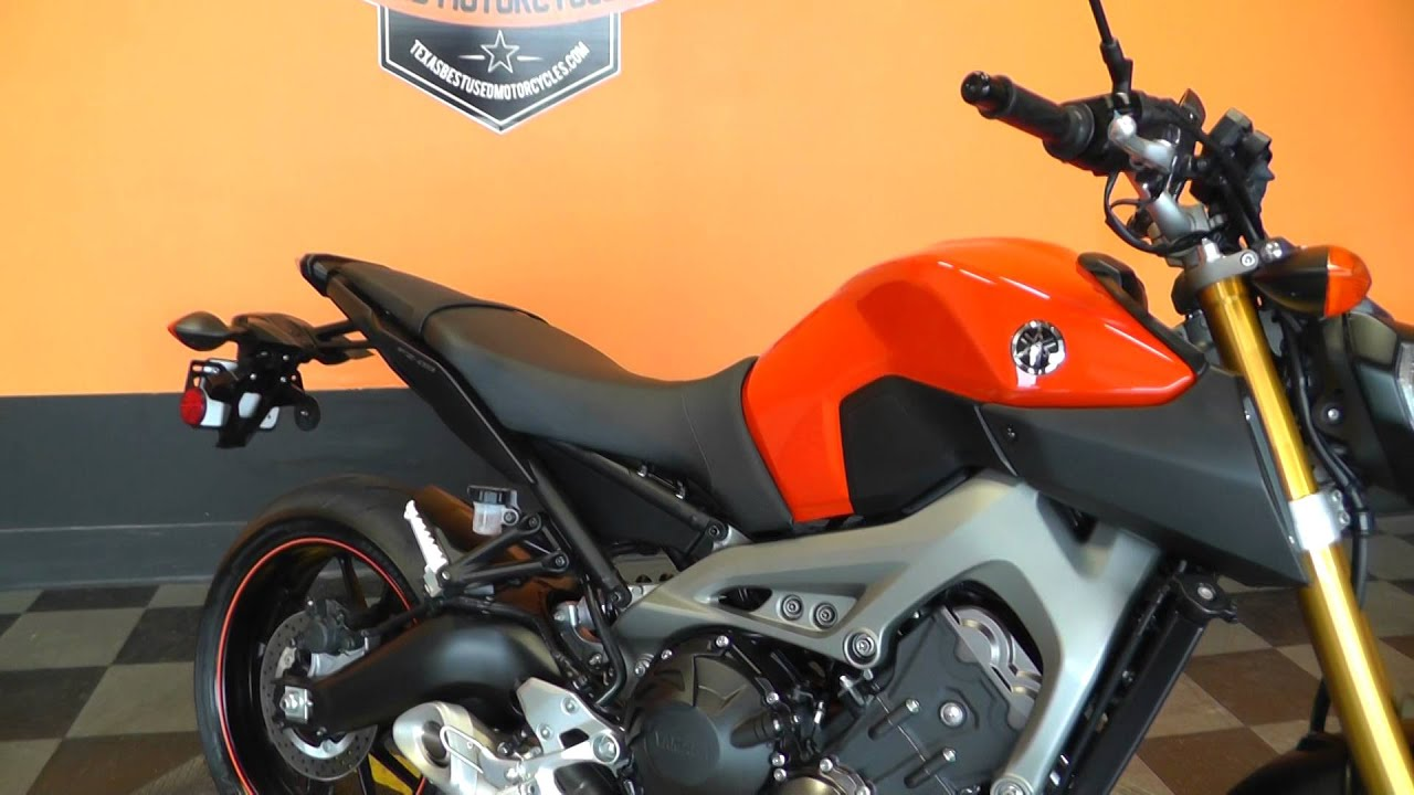 002104 2014 yamaha fz 09 used motorcycle for sale