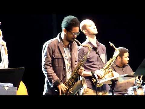 Vijay Iyer Sextet - live @ Jazz Middelheim 2014