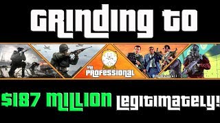 GTA Grinding to $187 Million Legitimately and Helping Subs $4,000,000 Grind One Stream!