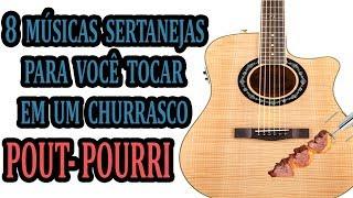 Baixar 8 músicas Sertanejas para você tocar em um Churrasco (Pout-Porri) Aula de levada Intermediário