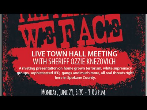 """The Threats We Face"" Town Hall with Sheriff Ozzie Knezovich - 06-29-15"