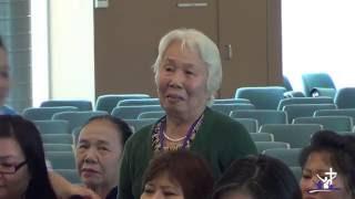 Tâm tình Lão niên - HẦU VIỆC CHÚA TRONG TUỔI GIÀ - Bà HỒNG BÍCH