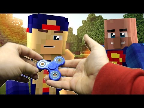Realistic Minecraft: Fidget Spinner gives you Superpowers? (Minecraft Roleplay) - Видео из Майнкрафт (Minecraft)