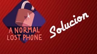 Solución A NORMAL LOST PHONE