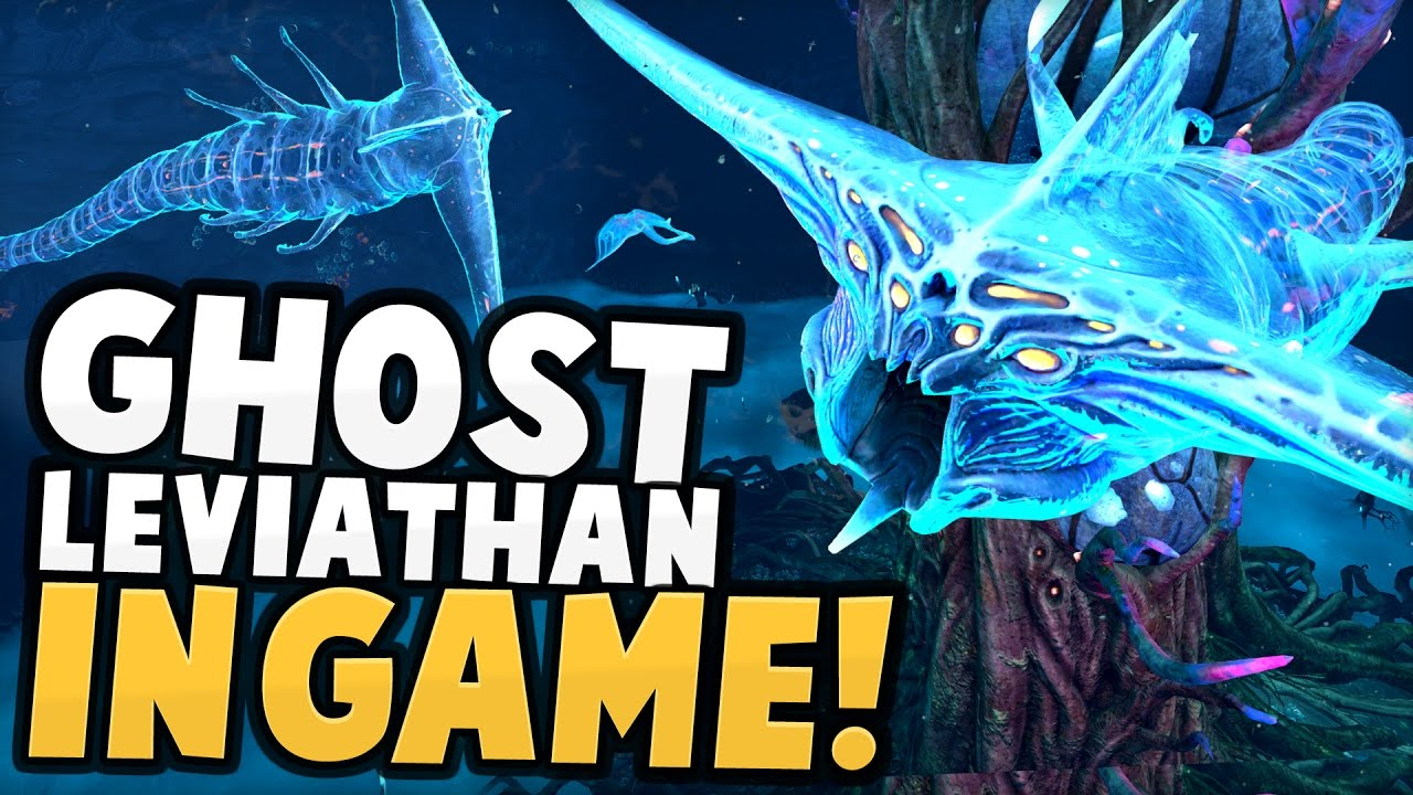 Subnautica – GHOST LEVIATHAN IN-GAME! The Lost Leviathan is