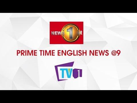 News 1st: Prime Time English News - 9 PM   (14-10-2019)