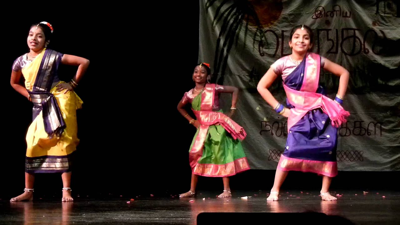 Haritha dance performance @ Tamil sangam Pongal program 2013 - YouTube