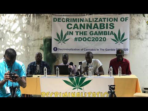 Decriminalization of Cannabis Gambia DOC 2020