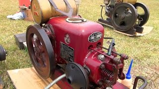 Old Engines in Japan 1950s MITSUBISHI KATSURA Engine Type J1 3hp part 2