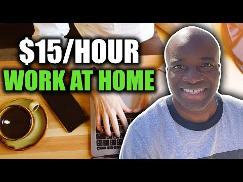 Legitimate Work From Home Jobs 3.29.2021 | $15/Hour Work From Home Jobs