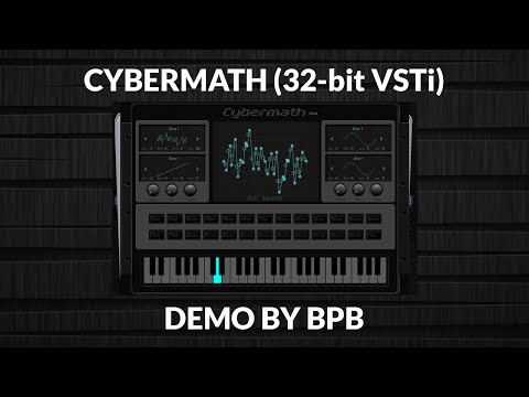 Cybermath - Free Wavetable Synthesizer VSTi Plugin (32-bit)