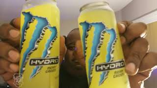 A Mountain Dew, Pepsi Fire & 2 Monster Drinks chugged Incredibily Fast!!!