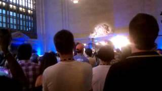 Band of Horses pop up concert at Grand Central Station by @AOL