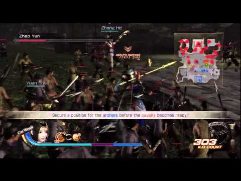 Dynasty Warriors 7 Xtreme Legends : Battle of Jieqiao (Nightmare) [HD]