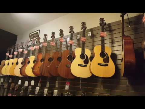 Crossroads Music Shop Tour in Port Townsend Washington