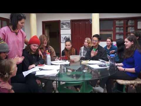 """Basta Ya"" as sung by MSN study abroad students (Spring 2014)"